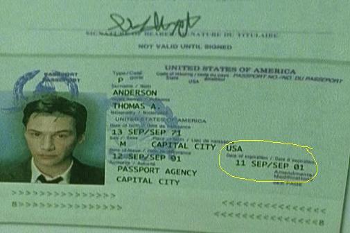 Pasaporte de Neo