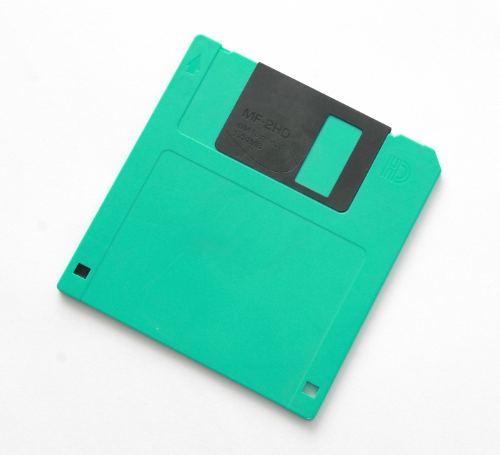 Disco floppy obsoleto