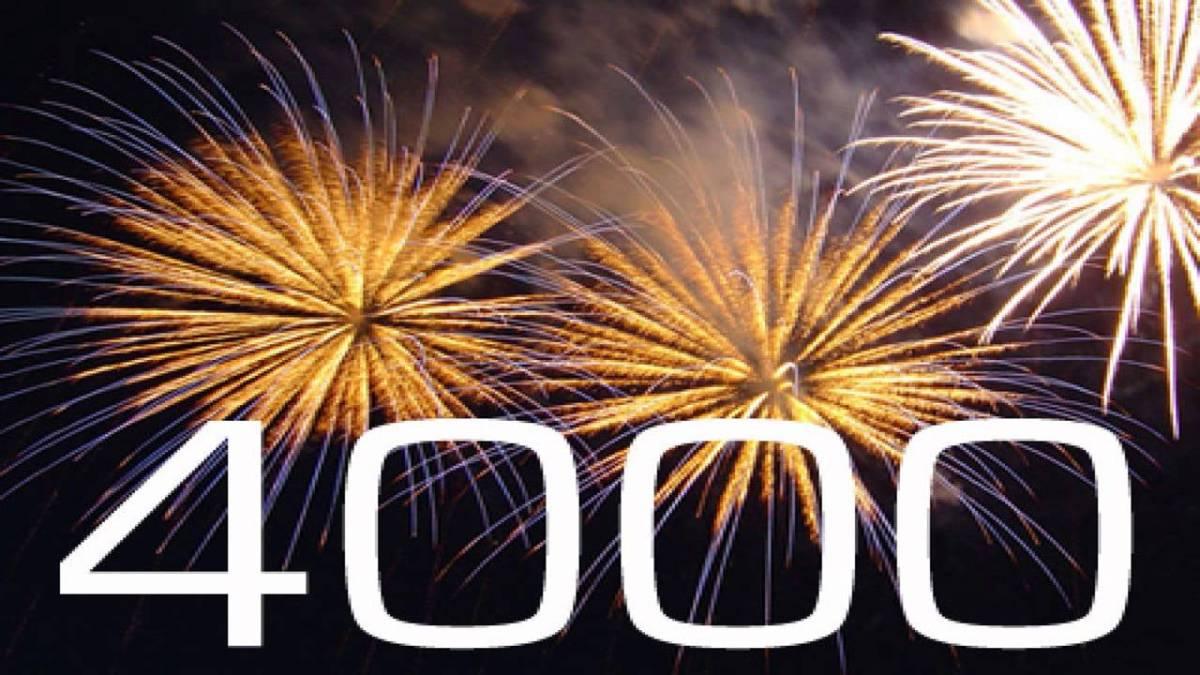 4000 días juntos